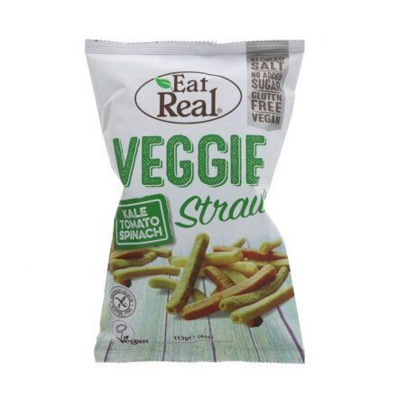 Eat Real Veggie Kale Straws g