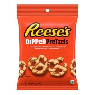 reeses dipped pretzels  oz g