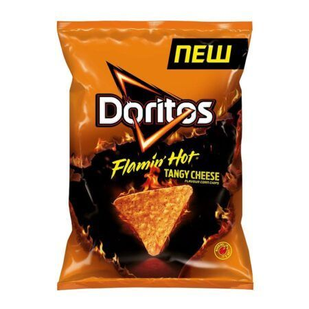 Doritos Flamin Hot Tangy Cheese