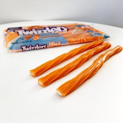 Skip Flavor Florida Orange Creme Pop Twizzlers