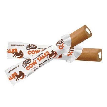 all city candy mini vanilla cow tales chewy caramel sticks 3 oz theater box theater boxes goetzes candy