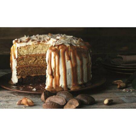 caramel ombre cake