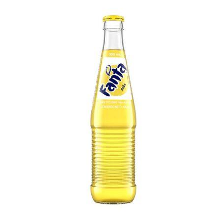 fanta mexico bottle pineapple