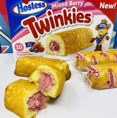 hostess twinkies mixed berry g