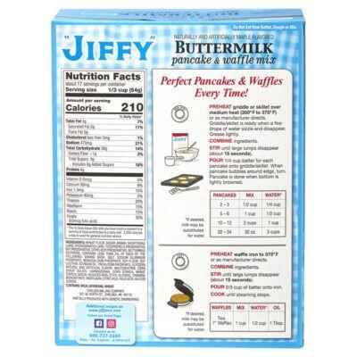 jiffy pancake mix instructions