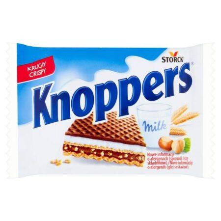 knoppers milk waffer