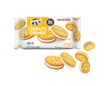 lenny larrys complete cremes plant based protein cookies vanilla pick mix