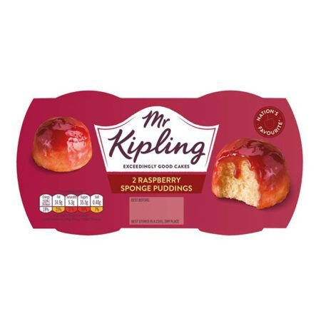 mr kipling  raspberry pudding
