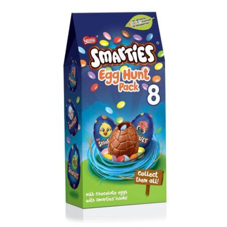 nestle smarties egg hunt pack 140g
