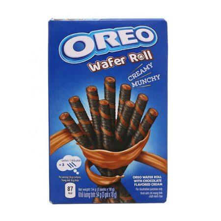 oreo wafer roll chocolate g