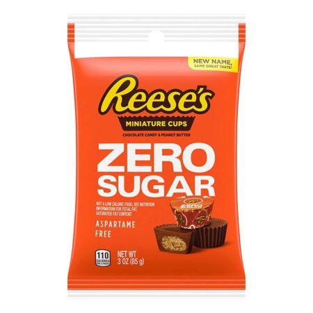 reeses zero sugar cups