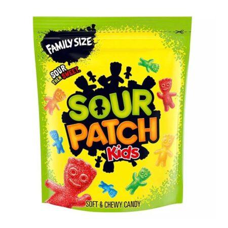 sour patch kids family size pouch lb oz g