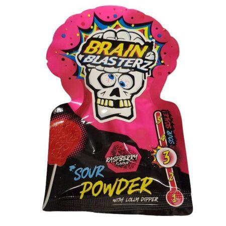 Brain Blasterz Sour Powder Dipper 10g Raspberry