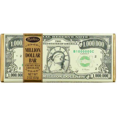 american bartons milk chocolate million dollar bar
