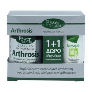 arthrosis  tampletes magnisio mg  anavrazonta diskia