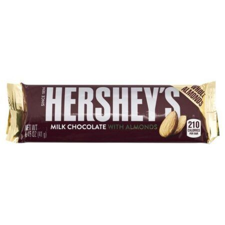Chocolate with Almonds Bar 1