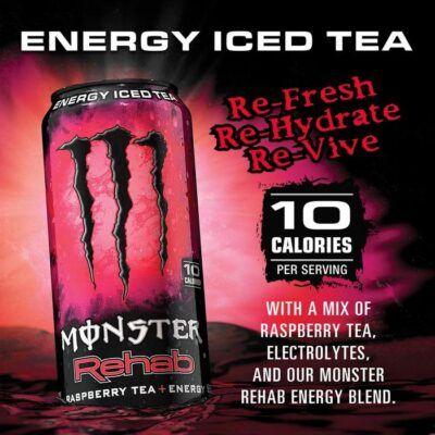 Monster Rehab Raspberry 2