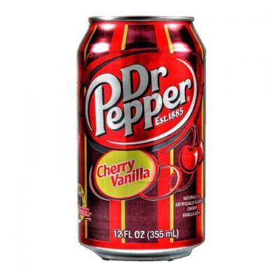 dr pepper cherry vanilla soda