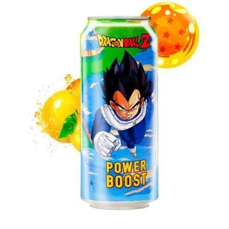 dragon ball z vegeta power boost energy drink 355m
