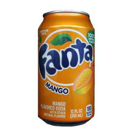 fanta mango soda