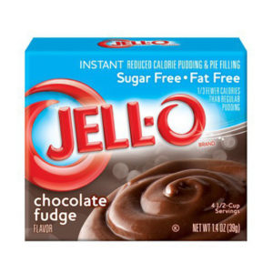 jello instant pudding sugar free chocolate