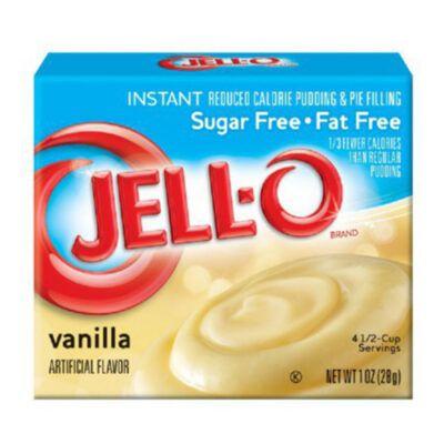 jello instant pudding sugar free vanilla