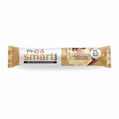 smart bar white choc blondie