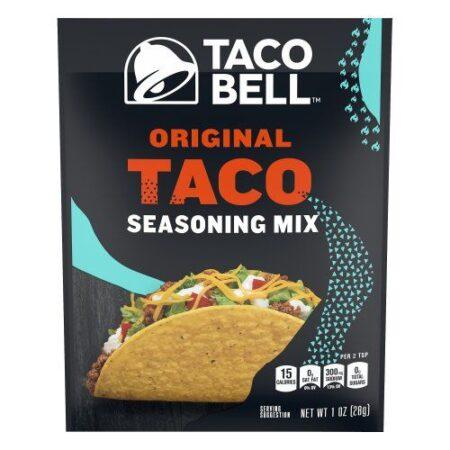 taco bell seasoning 28g
