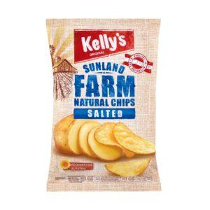 Kellys Natural Chips Salted