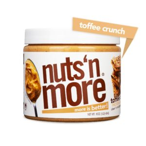 nuts n more toffee crunch