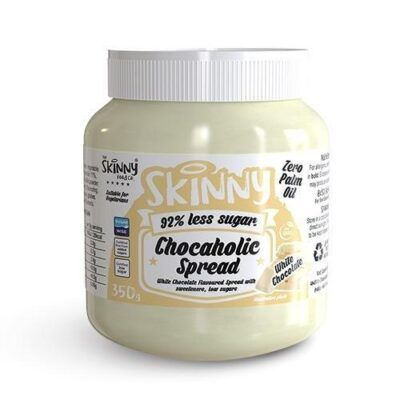 skinny notguilty low sugar chocaholic white chocolate flavoured spread g