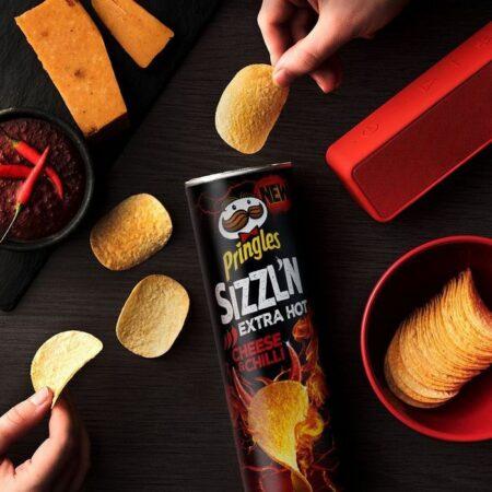 Pringles Sizzln Cheese Chilli