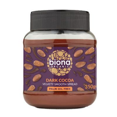 biona dark chocolate spread
