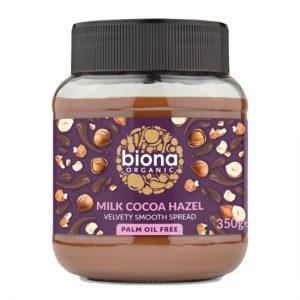 biona milk chocolate spread