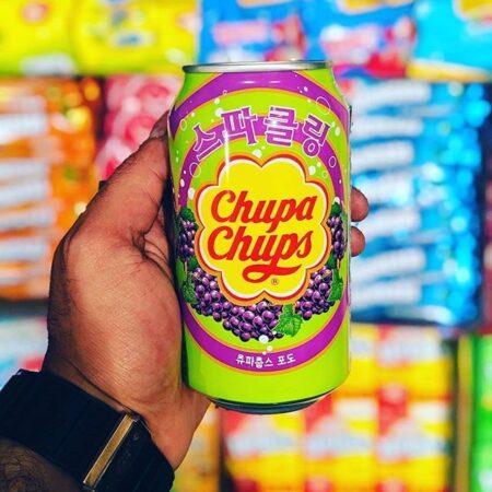 chupa chups grape soda