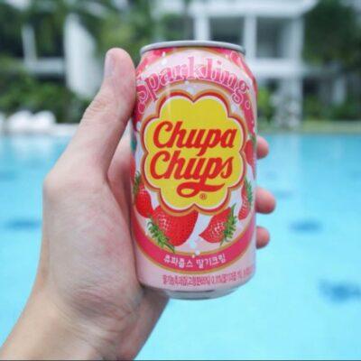 chupa chups strawberry cream