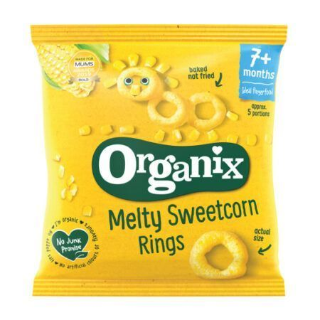 organix extruded sweetcornrings