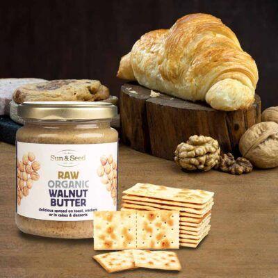 raw walnut butter