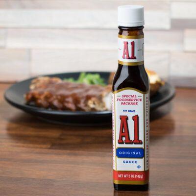 A steak sauce