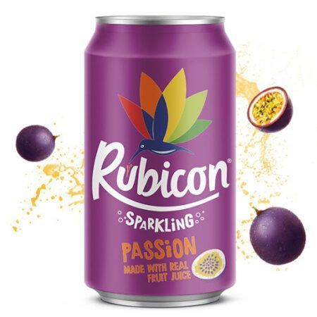 Rubicon Sparkling Passion Juice Drink ml