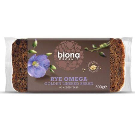 biona rye omega bread