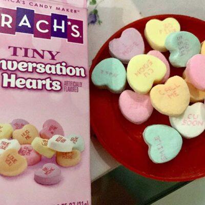 brachs tiny conversation hearts