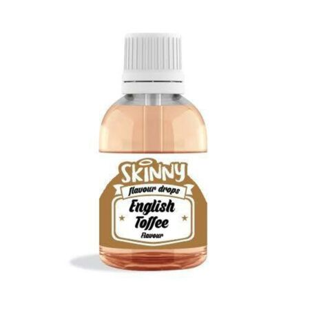 english toffee notguilty sugar free flavour gourmet drops