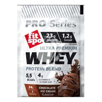 fitspo whey chocolate ice cream