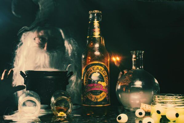 harry potter flying cauldron butterscotch beer soda 2