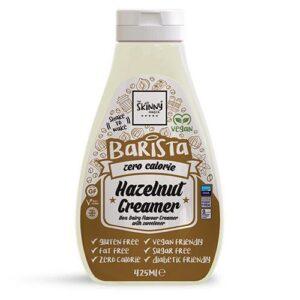 hazelnut barista zero calorie sugar free non dairy creamer ml