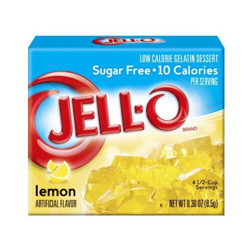 jello sugar free lemon