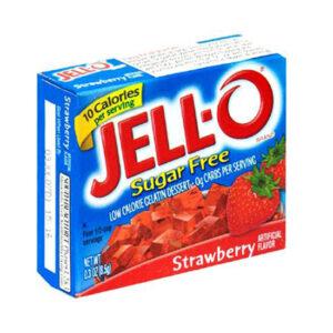 jello sugar free strawberry
