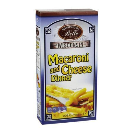 mississippi belle macaroni och cheese  g