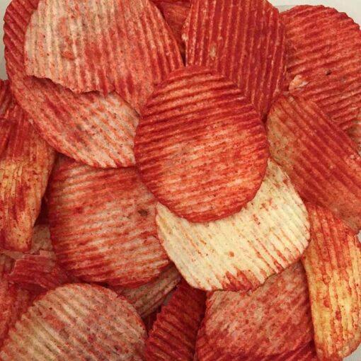 ruffles flamin ruffles flamin hot chips